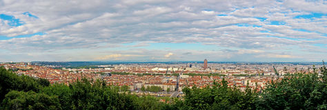 Lyon, France, panorama Royalty Free Stock Photography