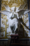 Lyon, France, statue of the basilica of Fourviere Royalty Free Stock Photography