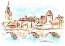 Lyon Francia libre illustration