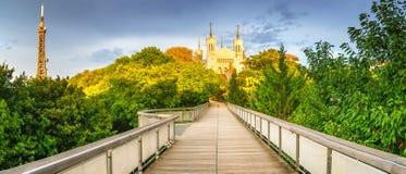 Lyon, Frankreich stockbild
