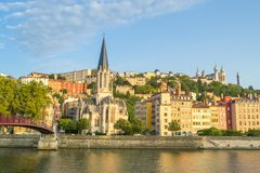 Lyon, Frankreich lizenzfreie stockfotos