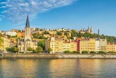 Lyon, Frankrijk stock foto