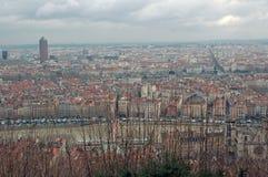 Lyon, Frankrijk. Stock Afbeeldingen