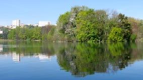 Lyon, Frankrijk Park stock footage