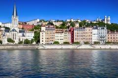 Lyon Frankrike Royaltyfri Fotografi