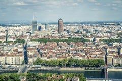 Lyon Frankrike, Europa royaltyfria foton