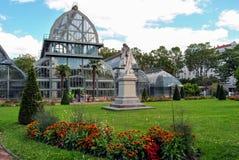 Lyon, jardín botánico del parque del d'Or de Tete Imagenes de archivo