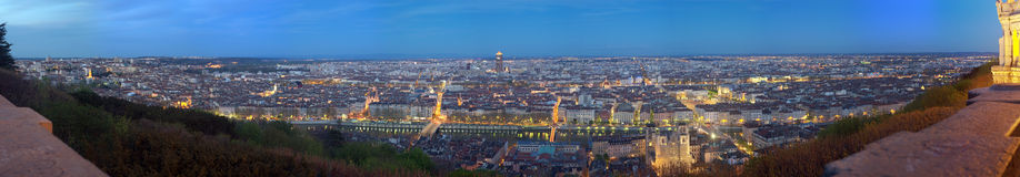 Lyon. La France Photo stock