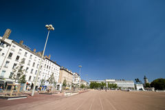 Lyon main square Royalty Free Stock Photos