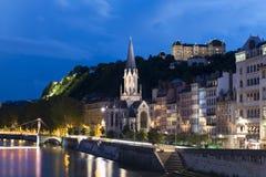 Lyon mitt Fotografering för Bildbyråer