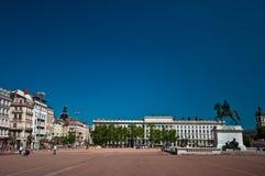 Lyon mittfyrkant Arkivbilder