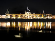 Lyon by Night Stock Images
