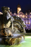Lyon by Night Royalty Free Stock Photography