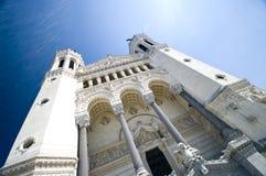 Lyon Notre Dame Stock Photography