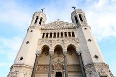 Lyon Notre Dame Stock Photo