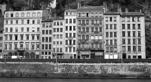 Lyon old city Royalty Free Stock Images