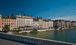 Lyon panorama Stock Photography