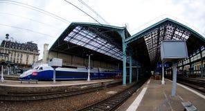 Lyon rail station stock photography