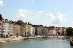 Lyon, Rhone-Alpes. Lyon in the Rhone-Alpes stock image