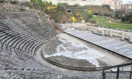 Lyon Roman Theater ruins Stock Image