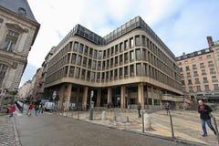 Lyon stadsmitt france Arkivfoto