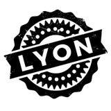Lyon-Stempelgummischmutz Stockbild