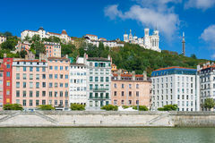 Lyon in a sunny summer day Royalty Free Stock Photography
