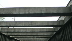 Lyon Tunnel stock footage