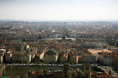 Lyon from up high Stock Photography
