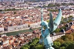 Lyon view Stock Image