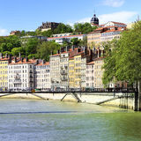 Lyon view, France Royalty Free Stock Photos