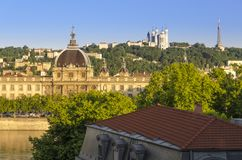 Lyon, former capital of Gaul stock image