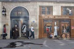 Lyonnais de DES de Fresque Images libres de droits