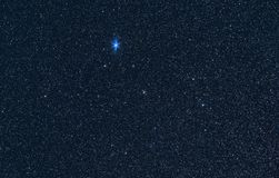 Lyra constellation Stock Photography