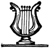 lyre-006 Royalty Free Stock Photography