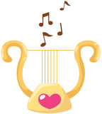 Lyre Foto de Stock Royalty Free