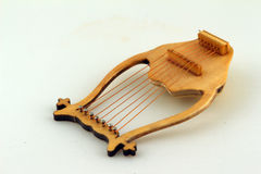 Lyre. Against light background Royalty Free Stock Images