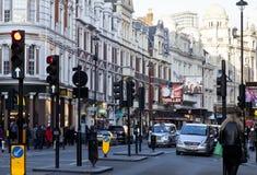 Lyric Theatre en Londres, Reino Unido Imagenes de archivo