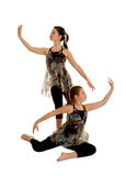 Lyrical Dance Duo Royalty Free Stock Images