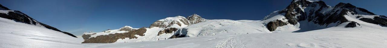 Lys glacier Stock Images