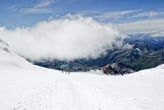 Lys Gletscher Stockbilder