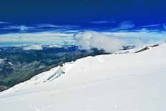 Lys Gletscher Stockfotos