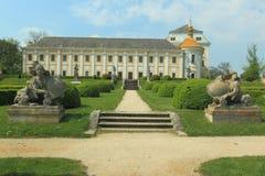 Lysa nad Labem chateau arkivbild
