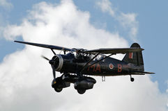 Lysander in cloud Stock Image