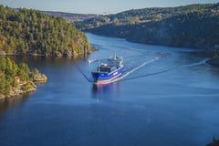 Lysbris των MV Στοκ φωτογραφίες με δικαίωμα ελεύθερης χρήσης
