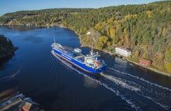 Lysbris των MV Στοκ Φωτογραφία