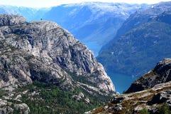 Lysefjord Photographie stock libre de droits