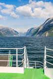 Lysefjord in Norway Stock Photography