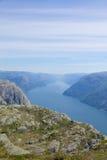 Lysefjord widok 002 Obrazy Stock