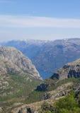 Lysefjord widok 085 Obrazy Stock
